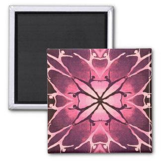 Dancer (Cranberry) 2 Inch Square Magnet