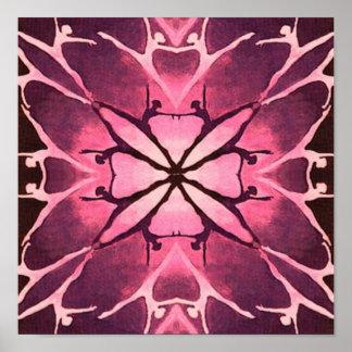 Dancer (Cranberry) (portfolio poster)