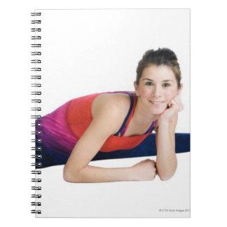 Dancer doing splits notebook