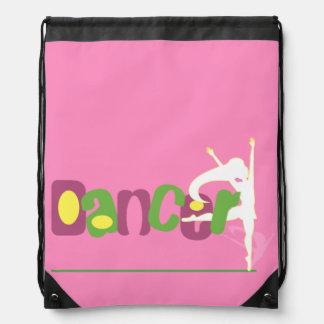 Dancer Drawstring Backpack
