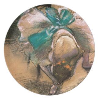 DANCER, Edgar Degas 1866 Plate