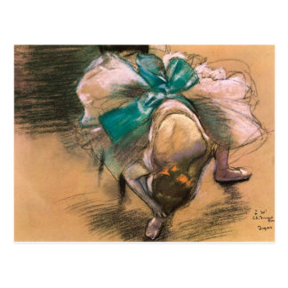 DANCER, EDGAR DEGAS POSTCARD