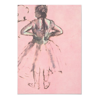 Dancer from the Back by Edgar Degas Birthday Party Card