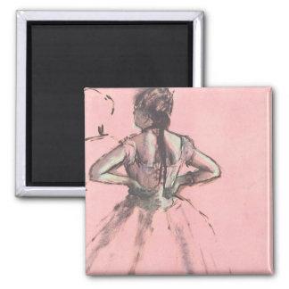 Dancer from the Back by Edgar Degas Vintage Ballet Magnet
