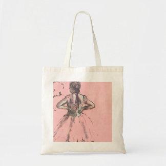 Dancer from the Back by Edgar Degas Vintage Ballet Tote Bag