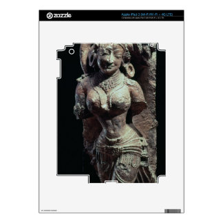 Dancer, from the Sun Temple of Kanara, Indian, 13t Decal For iPad 3