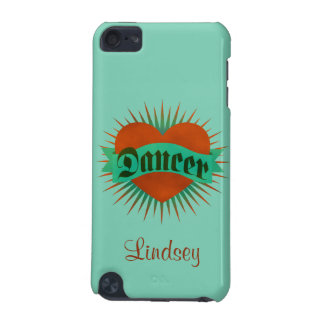 Dancer Grunge Heart iPod Touch (5th Generation) Case