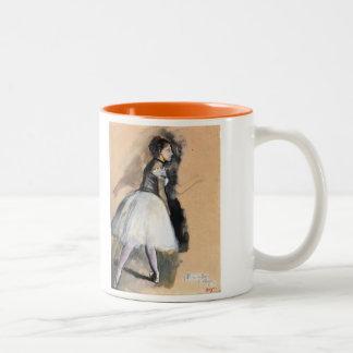 Dancer in a Ballet Position - Edgar Degas Mug