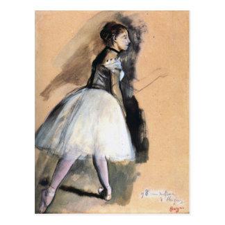 Dancer in a Ballet Position - Edgar Degas Postcard