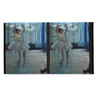 Dancer in Front of a Window iPad Folio Cover
