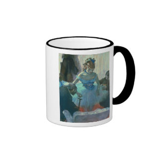 Dancer in her dressing room coffee mugs