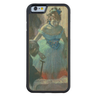 Dancer in her dressing room carved® maple iPhone 6 bumper