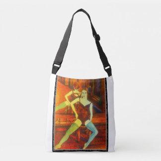 Dancer in Repose Crossbody Bag