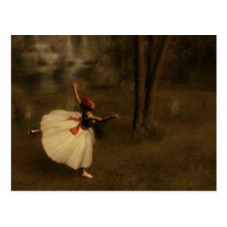 Dancer in the Garden Postcard