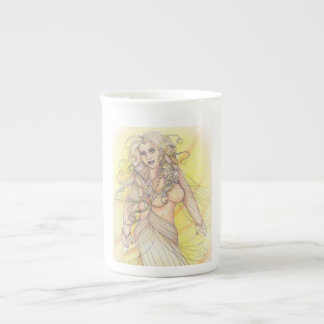 Dancer in the Light Tea Cup