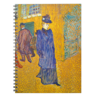 Dancer Jane Avril 1892 Notebook