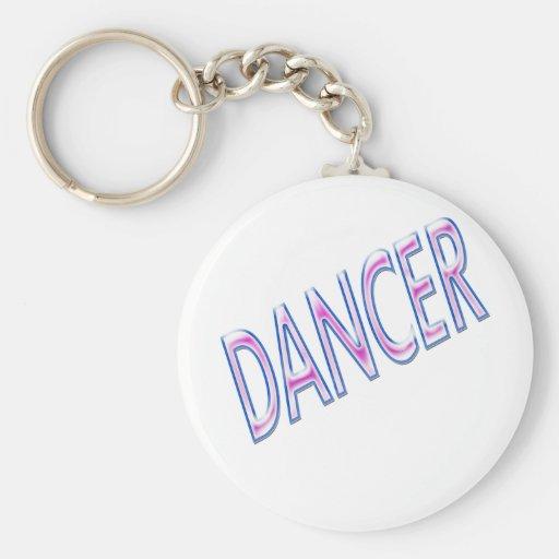 dancer keychain