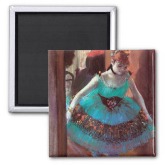 Dancer Leaving Her Dressing Room by Degas Magnet