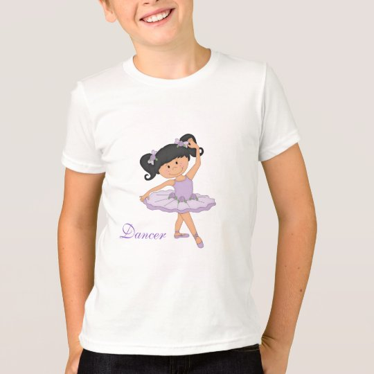 Dancer-Little Ballerina in Tutu T-Shirt