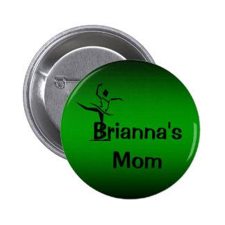 Dancer Name Mom Pin