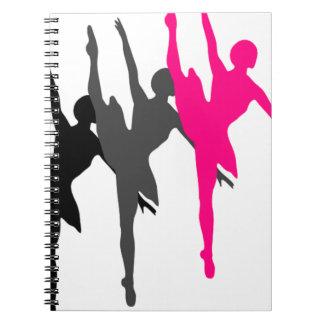 dancer notebooks