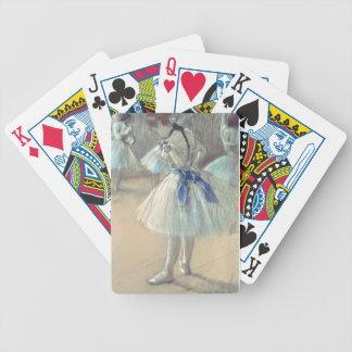 Dancer (pastel) bicycle playing cards
