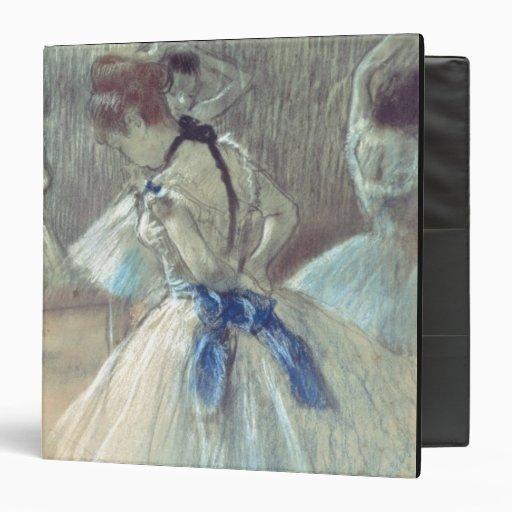 Dancer (pastel) 3 ring binder