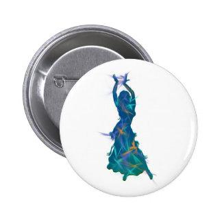 Dancer *Pheja* 2 Inch Round Button