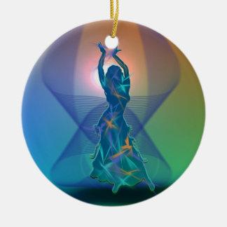 Dancer *Pheja* Ceramic Ornament