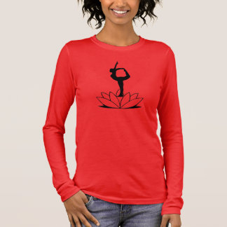 Dancer Pose - Plus-Size Yoga Long Sleeve Top