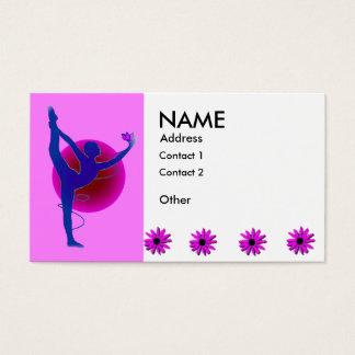 Dancer Pose - Yoga Business Cards