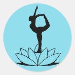 Dancer Pose - Yoga Sticker