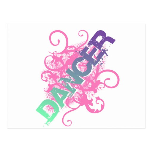 Dancer Post Card
