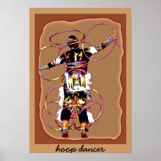 dancer~poster del aro póster