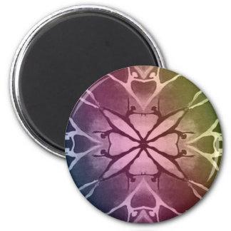 Dancer (Rainbow) 2 Inch Round Magnet