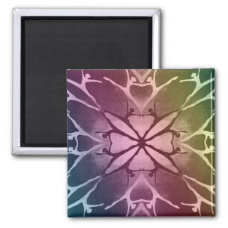 Dancer (Rainbow) 2 Inch Square Magnet