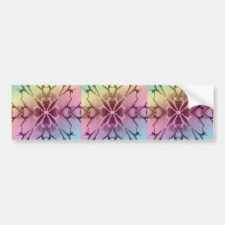Dancer (Rainbow-Pastel) Bumper Sticker