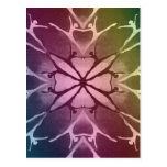 Dancer (Rainbow) Postcards