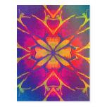 Dancer (Rainbow - Psychedelic) Postcard