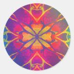 Dancer (Rainbow - Psychedelic) Stickers