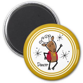 Dancer Reindeer Magnet