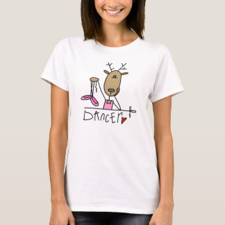 Dancer Reindeer T-shirts and Gifts