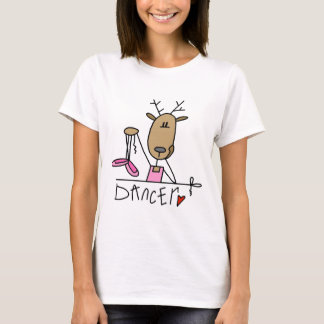Dancer Reindeer Tshirts and Gifts
