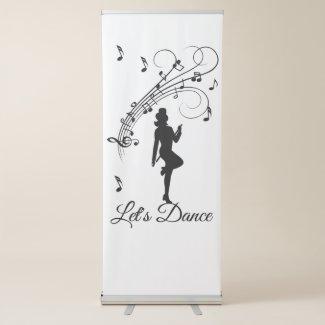 Dancer Retractable Banner