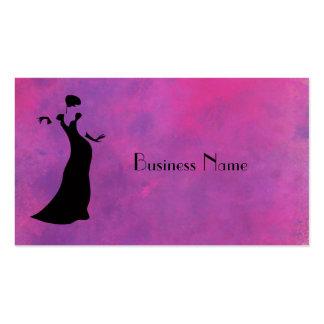 Dancer Silhouette Business Card Templates