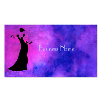 Dancer Silhouette Business Cards