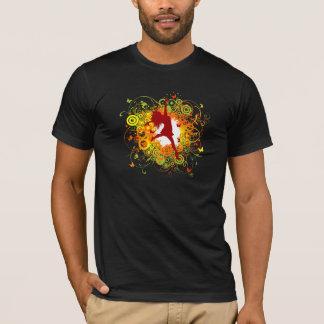 Dancer Silhouette Mens T-Shirt