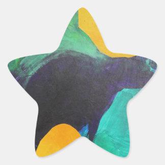 Dancer. Star Sticker