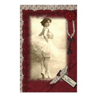 Dancer Stationery Paper