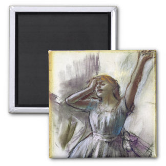 Dancer Stretching by Degas Magnet